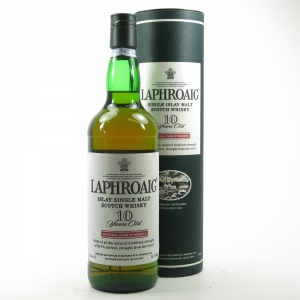 Laphroaig 10 Year Old Cask Strength 75cl US Import