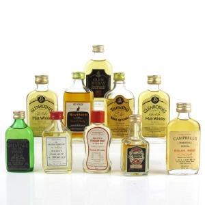 Speyside Miniature 1970/80s Selection 10 x 5cl