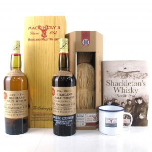 Mackinlay's Shackleton Replica 1st and 2nd Edition 2 x 70cl / Including Books and Mug