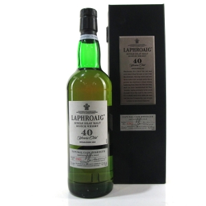 Laphroaig 40 Year Old