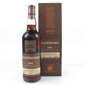 Glendronach 1993 Single Cask 18 Year Old #1607
