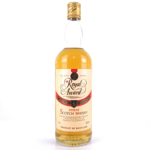 Royal Award Scotch Whisky 1980s / Littlemill
