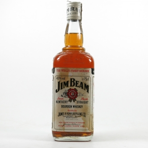 Jim Beam White Label 1980s