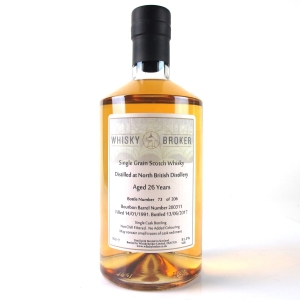 North British 1991 Whisky Broker 26 Year Old