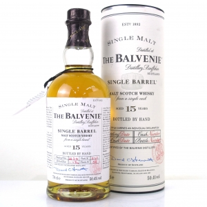 Balvenie 1984 15 Year Old Single Barrel