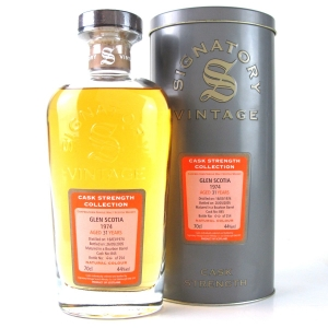 Glen Scotia 1974 Signatory Vintage 31 Year Old
