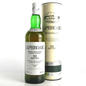Laphroaig 10 Year Old Pre-Royal Warrant 1 Litre