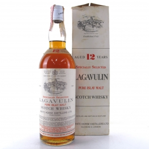 Lagavulin 12 Year Old White Horse 1970s / Carpano Import