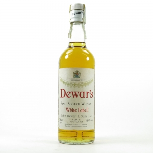 Dewar's White Label Circa 1980s