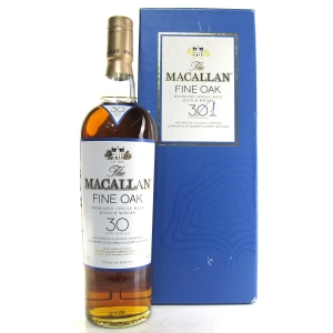 Macallan 30 Year Old Fine Oak