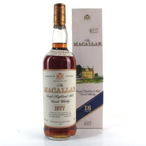 Macallan 18 Year Old 1977 75cl / Duty Free