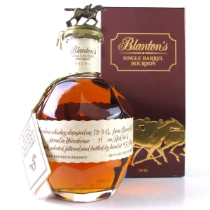 Blanton's Single Barrel Bourbon Dumped 2016 / Japanese Import