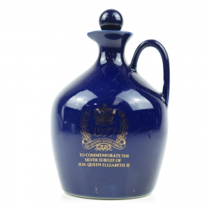 *WEIGH / UPDATE PRODUCT VALUES RESEARCH Queen's Silver Jubilee 1977 Decanter