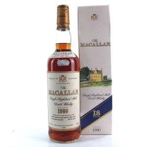 Macallan 18 Year Old 1980