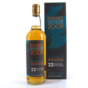 Highland Park 22 Year Old Duncan Taylor / Runrig Dram of Destiny