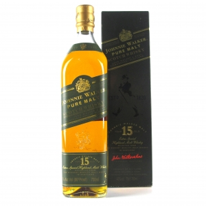 Johnnie Walker Green Label 15 Year Old 75cl / Puerto Rican Import