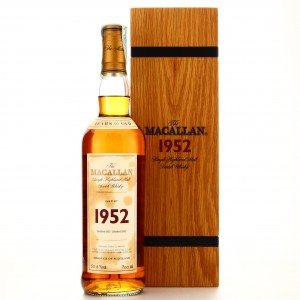 Macallan 1952 Fine and Rare 50 Year Old
