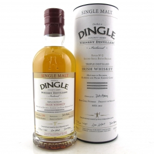 Dingle Irish Single Malt Small Batch No. 2 / Bourbon and Sherry Casks