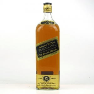 Johnnie Walker Black Label 1980s 1.125 Litre