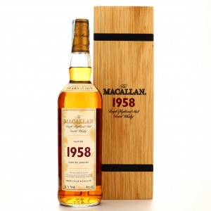 Macallan 1958 Fine and Rare 43 Year Old