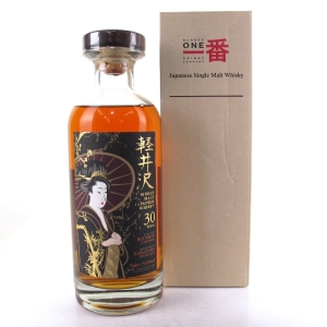 Karuizawa 1983 Single Cask 30 Year Old #8606 / Geisha Label for TWE