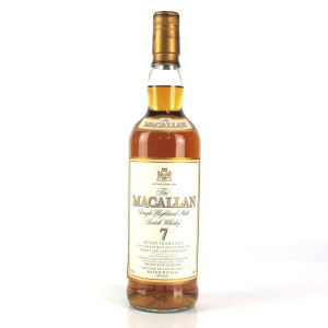 Macallan 7 Year Old Maxxium Italia