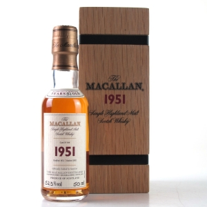 Macallan 1951 Fine And Rare Miniature 5cl