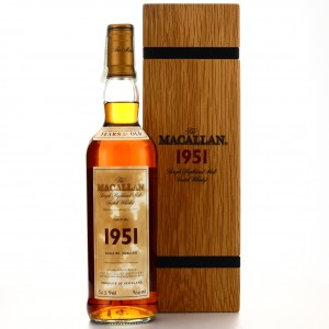 Macallan 1951 Fine and Rare 51 Year Old