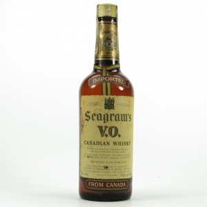 Seagram's V.O Canadian 6 Year Old 1970s