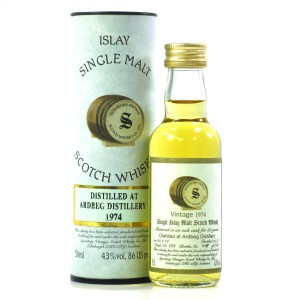 Ardbeg 1974 Signatory Vintage 23 Year Old Miniature 5cl
