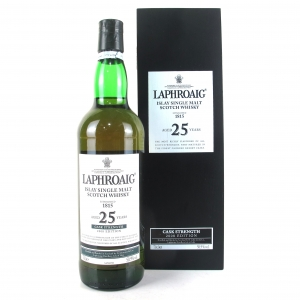 Laphroaig 25 Year Old Cask Strength 2008 Release