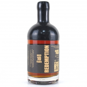 Redemption 10 Year Old Straight Rye Batch #1