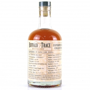 Buffalo Trace 1997 Experimental Collection 15 Year Old 37.5cl / Heavy Char Barrel