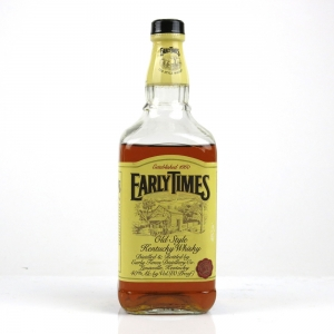 Early Times Old Style Kentucky Straight Bourbon / Low Fill