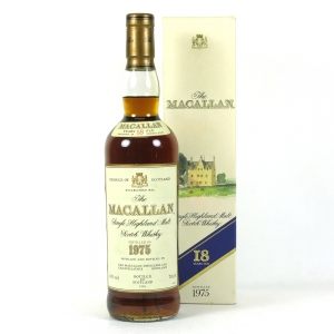 Macallan 1975 18 Year Old Front