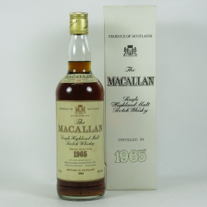 Macallan 1965 18 Year Old Front