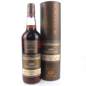 Glendronach 1993 Single Cask 24 Year Old #653 / Green Welly Stop 10th Anniversary
