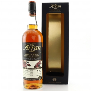 Arran 2002 Private Cask #550 14 Year Old / Sherry Cask