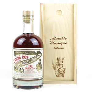 *BACK PHOTO Caroni 1999 Alambic Classique 16 Year Old Rum