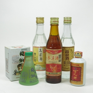 Miscellaneous Asian Spirits/Wine Selection