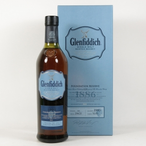Glenfiddich 1993 Foundation Reserve front