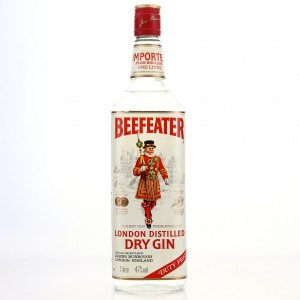 Beefeater London Dry Gin 1 Litre 1980s