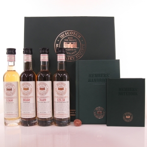 SMWS Membership Box 4 x 10cl / Including Bowmore
