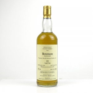 Bowmore 1964 Duthie for Corti 22 Year Old