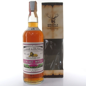 Glenlivet 1940 Gordon and MacPhail 45 Year Old