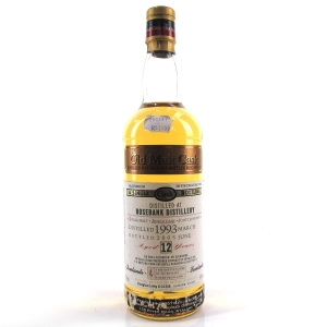 Rosebank 1993 Douglas Laing 12 Year Old 75cl / South African Import