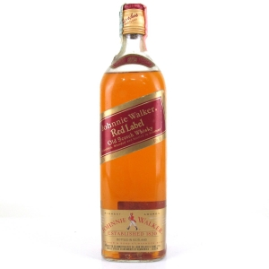 Johnnie Walker Red Label / Wax Import