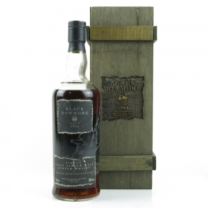 ** DAMAGE PICS!! Bowmore 1964 Black Bowmore 30 Year Old 2nd Edition