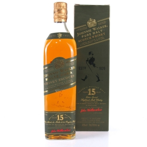 Johnnie Walker Pure Malt 15 Year Old / Green Label