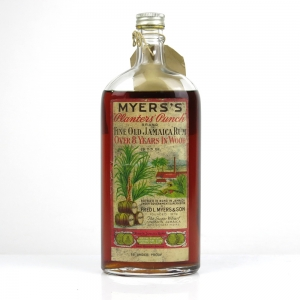 Myers's 8 Year Old Jamaican Rum 1940s / Seal Not Complete